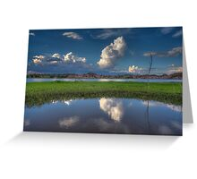 Cloud Patch Greeting Card