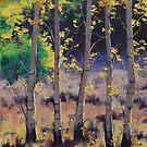 Aspen Trees by Graham Gercken
