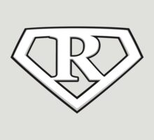 Super Cool White R Logo by adamcampen