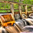The honey water dam [HDR] by João Figueiredo