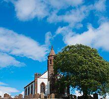 Building, Church, Mouswald, Dumfriesshire, Scotland, by Hugh McKean