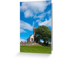 Building, Church, Mouswald, Dumfriesshire, Scotland, Greeting Card