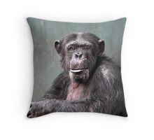 Life In A Concrete Jungle Throw Pillow