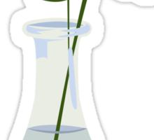 gerbera in vase Sticker