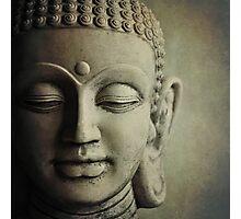 Buddha Head Photographic Print