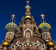 The Church of Our Saviour on the Spilled Blood by eddiechui