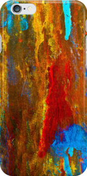 Woman in Red - an Abstract by Patricia L. Walker