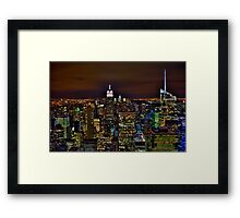 The Big Apple - NYC Framed Print