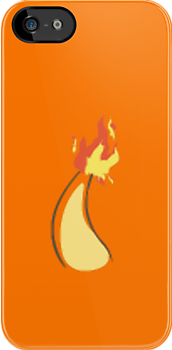 Charmander iPhone Cover by jereeebear