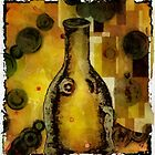 Bottle a la Klimt by Gun Legler