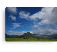 Rainbow, Mount Widgee. Lost World. Scenic Rim. Queensland. Canvas Print