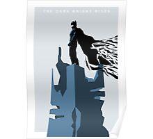 The Dark Knight Rises (Ice) Poster