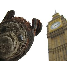 Andy Everywhere Meets Big Ben by AndyEverywhere