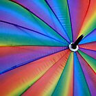 rainbow umbrella by lensbaby