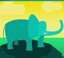 Ivan the Elephan by Trevor B