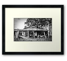 The Farmers Shed Framed Print