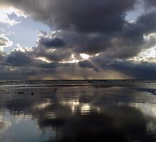 """Stormy Skies Sewerby"" by Merice  Ewart-Marshall - LFA"