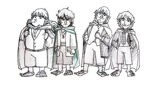 Four of Nine companions by gillianjaplit