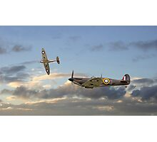 Spitfire - 'Home and Tea' Photographic Print
