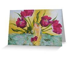 While The Sun Shines Greeting Card