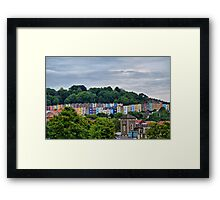 Little Boxes on the Hillside Framed Print
