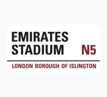 Emirates Stadium Sign by StreetsofLondon