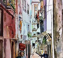 One Sunny Day in Alfama by Jo-anne Corteza
