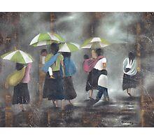 The Rain - La Lluvia Photographic Print