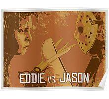 Eddie vs. Jason Poster