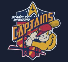 Starfleet Academy Captains Baseball by Joe Dugan