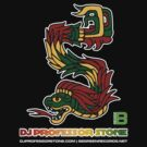 DJ Professor Stone - July 2012 Merch ver 777 no circle rasta text by VII23
