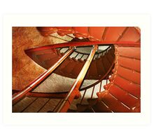 Up or down, its all good Art Print