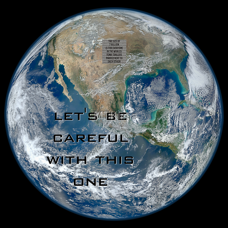 Earth - Let's be careful by MTKlima