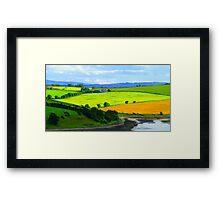 An Impression Of Van Gogh Framed Print