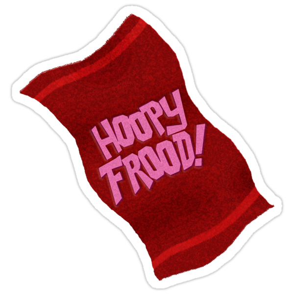 HOOPY FROOD! (towel) by shaydeychic