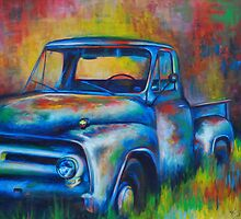 Old Truck. by Heather Schuer