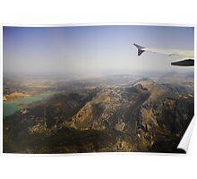 Flying Over Spanish Land I Poster