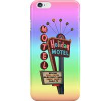 Holiday Motel iPhone Case/Skin