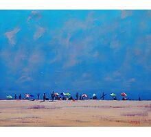 Hazy Beach Day Photographic Print