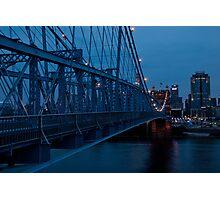 Blue in Cincinnati Photographic Print