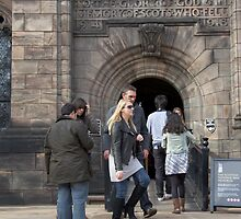 The Scottish National War Museum inside Edinburgh Castle by ashishagarwal74