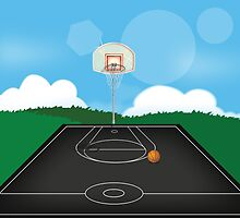 Basketball by Nick  Greenaway