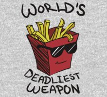 World's Deadliest Weapon (Original) Kids Clothes