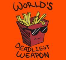 World's Deadliest Weapon (Original) Kids Clothes