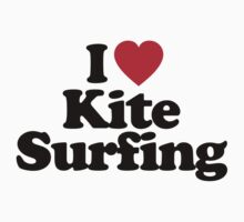 I Love Kite Surfing by iheart