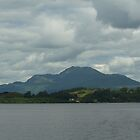 Grey Sky Over Ben Lomond by youmeus