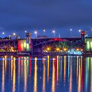 Morrison Street Bridge In Portland Oregon by TRDesigns