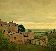 Early Morning Light in Tuscany by Deborah Downes
