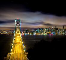 The Best Drive In - San Francisco Skyline by Toby Harriman
