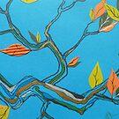 autumn orange by Hannah Clair Phillips